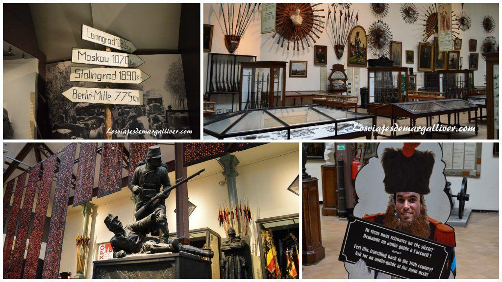 Museo de historia de la guerra en Bruselas - Los viajes de Margalliver